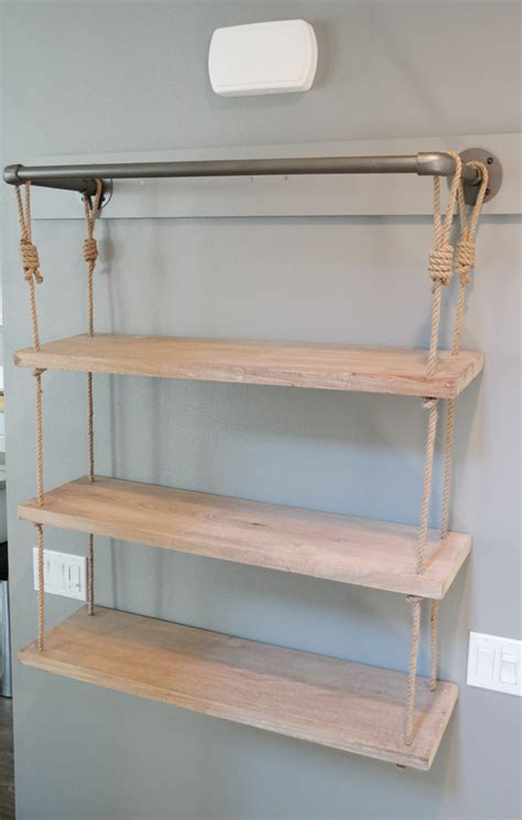 home d 233 cor floating industrial shelves modish