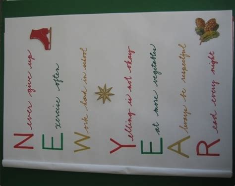 new year acrostic poems 1000 images about new year on new year s new years and happy new year