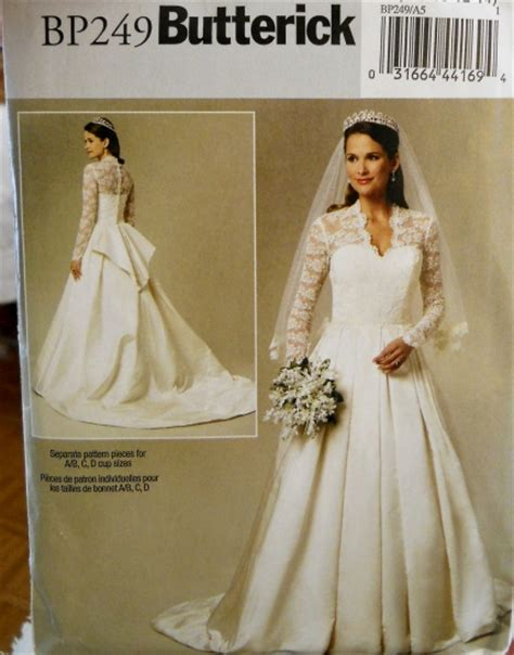 Wedding Dress Patterns by Butterick Royal Wedding Dress Pattern For Catherine S Gown