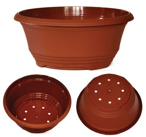 30 Inch Planter Pots by 3 X Plastic Teku T30 Bulb Bowls Plant Pots Terracotta