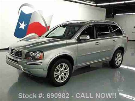 volvo xc90 7 passenger leather sunroof 18k 2014