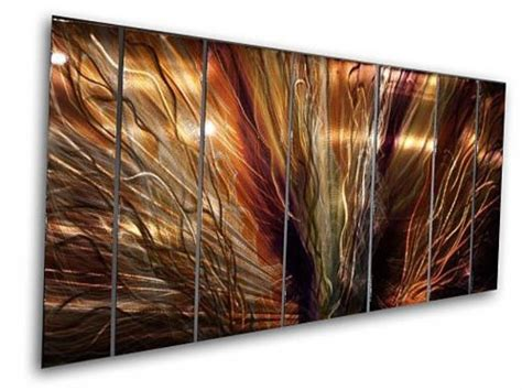 Abstract Metal Wall Panels