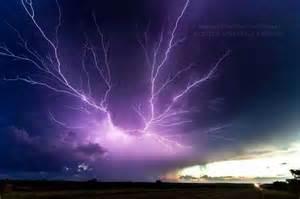 Purple Lightning Purple Lightning And Skies And Lightning
