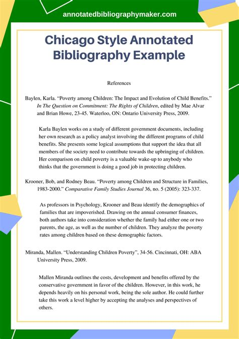 Annotated Bibliography Essay Exle by This Chicago Style Annotated Bibliography Exle Will Provide You With All The Details You Need
