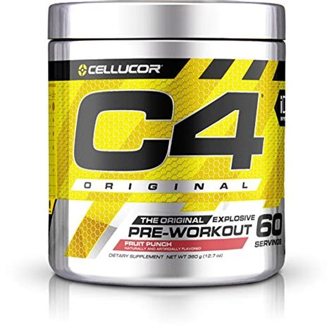 cellucor c4 original explosive pre workout supplement