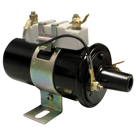 12v to 6v with resistor 1100 0540 ford new coil 6v w o resistor or 12v w resistor ford n tractor parts