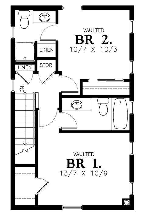 Floor Plans For Small 2 Bedroom Houses Interalle Com