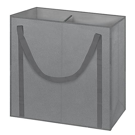 Arm Hammer 2 Compartment Laundry Her In Grey Bed Two Compartment Laundry