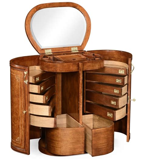 luxury jewelry armoire luxury locking jewelry armoire with floral mother of pearl marquetry