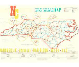 434 finger lickin places to eat with the great nc bbq map