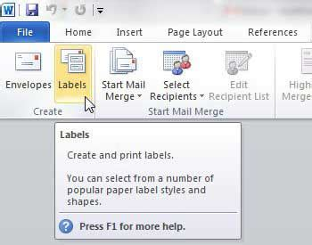 printing address labels word 2010 how to print address labels from word 2010 solve your tech
