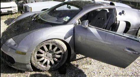 bugatti crash for sale bugatti veyron lagoon crash aftermath gallery photos 1