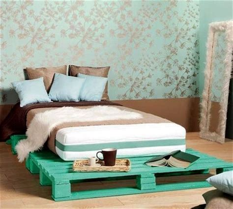 diy pallet bed frame pallet addicted 30 bed frames made of recycled pallets