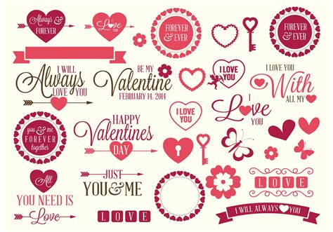 s day relationship map valentines vector elements free vector