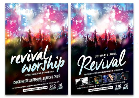 Free Revival Flyer Template 20 revival flyer template free premium psd ai vector