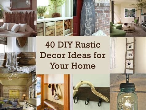 diy rustic home decor ideas images rustic primitive country decorating ideas pinterest home