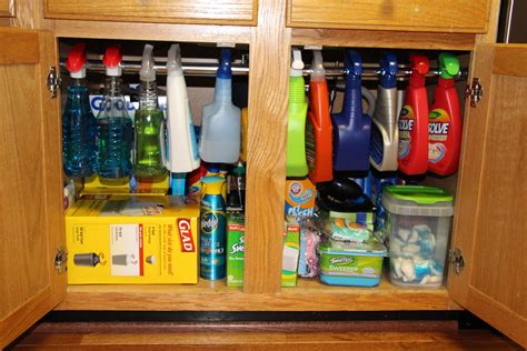 sink kitchen storage 10 ideas to organize your kitchen in a snap blissfully