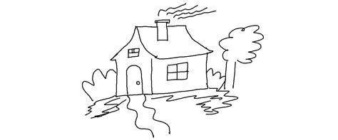 how to draw a house 2 awesome and easy way for everyone images for kids drawing leversetdujour info