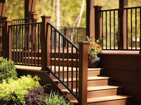 Porch Railing Designs Metal Deck Railing Designs