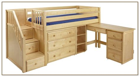 low loft bed with low loft bed with stairs