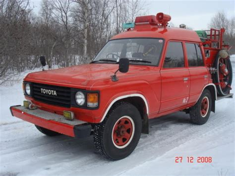 1986 Toyota Land Cruiser 1986 Toyota Land Cruiser Pictures