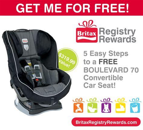 free infant car seat program britax registry rewards launches babycenter