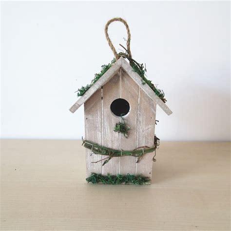 bird decor for home wooden bird house wood bird nest garden decoration bird