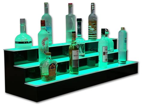 best led bar shelves and led liquor shelf collection