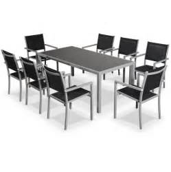 salon de jardin capua en aluminium table 180cm 8