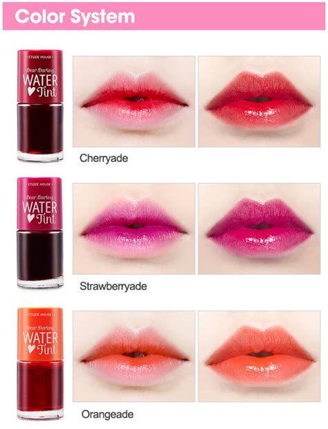 Etude Water Tint Di Counter jual etude house dear water tint koreanbeautyy