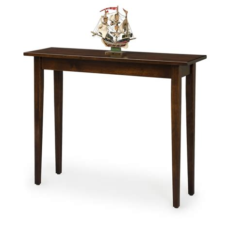 shaker sofa table shaker sofa table amish shaker sofa table country lane