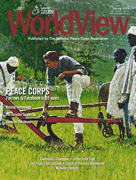 Duke Mba Peace Corps by 2016 Peace Corps Vol 29 Issue 1 By National