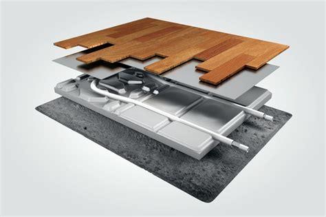 impianti a pavimento a secco sistemi radianti