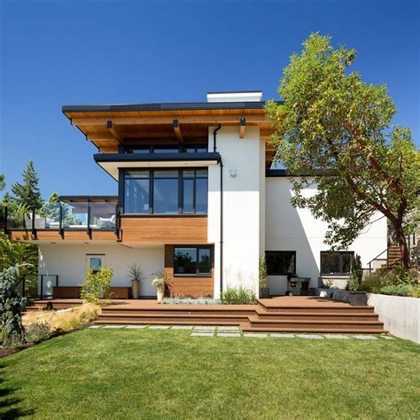 contemporary burkehill house vancouver canada by