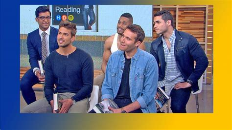 new guys on gma the men of hot dudes reading visit gma video abc news