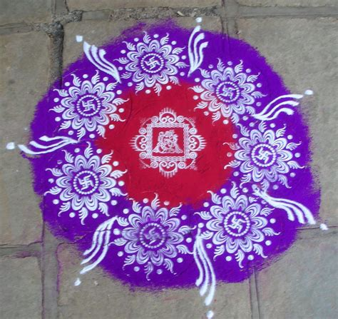 beautifully designed 35 amazing mythological rangoli designs amazing punch