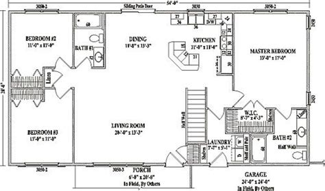 apartments house plans open concept open concept ranch ranch floor plans open concept mankato ii by wardcraft