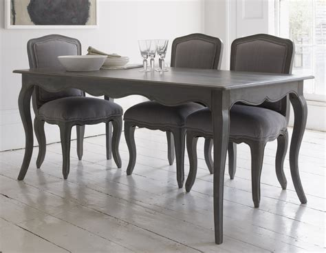 grey wood dining room table and chairs dining table with curved legs and attractive
