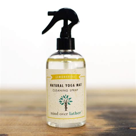 Mat Cleaners by Mind Lather Lemongrass Mat Cleaning Spray