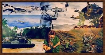 Wall Murals Vancouver vietnam veterans memorials