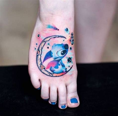 lilo and stitch tattoo stitch stitch space inked up