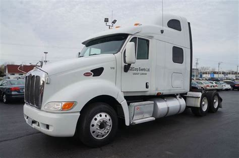 automatic trucks for sale 2007 peterbilt tractor c 15 automatic sleeper cab for sale