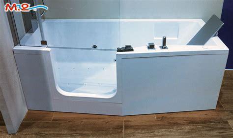 vasca da bagno con sportello e doccia m 2 trasformazione vasca in doccia e sistema vasca nella