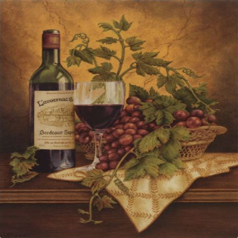 grapes and wine home decor set of 8 coasters italian wine grapes i kitchen decor