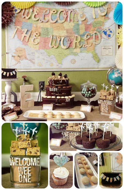 party themes original our welcome to the world baby shower b lovely events