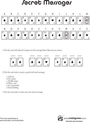 secret message secret messages worksheet education
