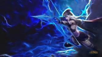 ashe league legends archer artistic hd wallpapers mobile phones tablet laptop