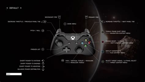 game controller layout elite dangerous guide controls and the hud 4 one gaming