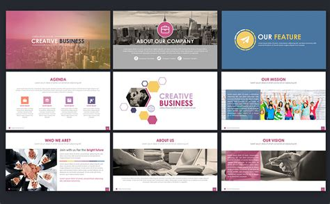 Powerpoint Templates For Advertising Agency | creative business powerpoint template 66272