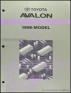 car engine manuals 1996 toyota avalon auto manual 1996 toyota avalon repair shop manual original
